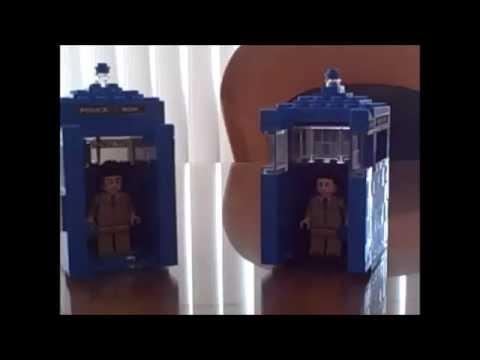 Our LEGO TARDIS' -By Rmurtube & General Jazz
