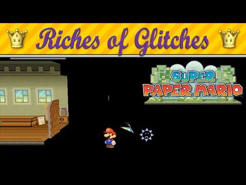 Riches of Glitches in Super Paper Mario (Glitch Compilation)