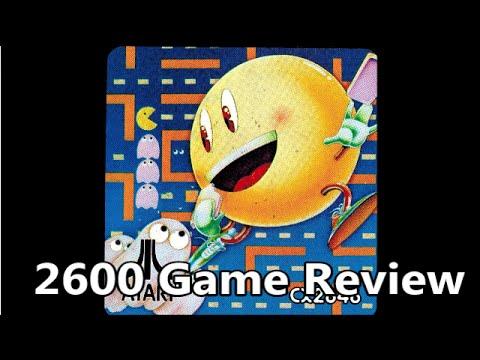 Pac-Man Atari 2600 Review - The No Swear Gamer Ep 34