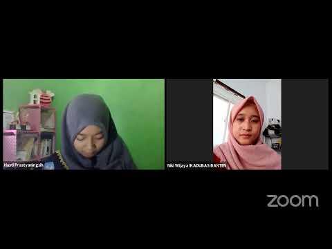 Sosialisasi Pemilihan Duta Bahasa Provinsi Banten 2021 Zona Tiga