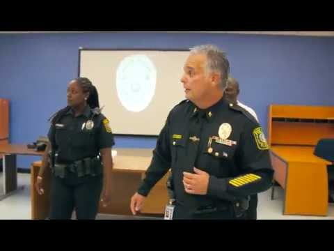 Miami Dade Schools Police Running Man Challenge