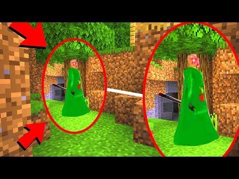 I followed Baldi Granny in Minecraft.. (FOUND SECRET)