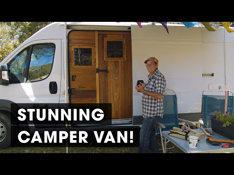 This Womans Stunning Camper Van is the Best Ive Ever Seen!