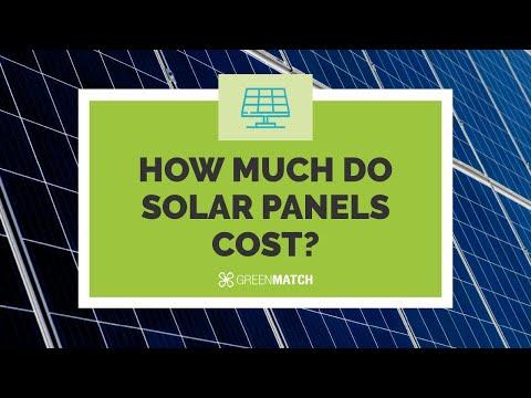 Solar Panel Installation - Costs and Savings