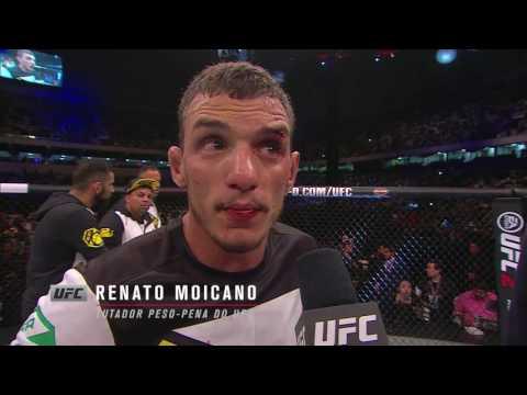 """#UFC198: """"Ainda posso mostrar muito mais"""", diz Renato Moicano"""