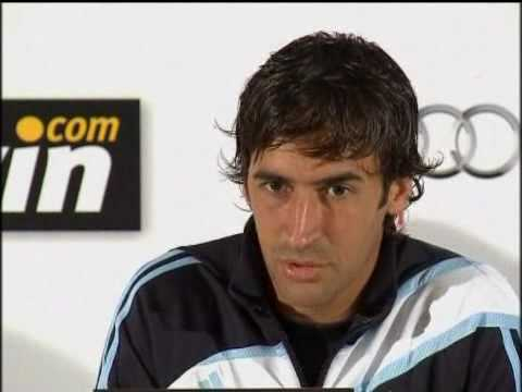 Raul interview after training in Ireland