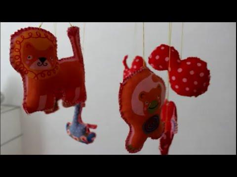 Baby Mobile Gehkelt Mit Meerestieren Basteln T Babies