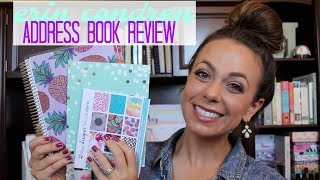 erin condren address book review