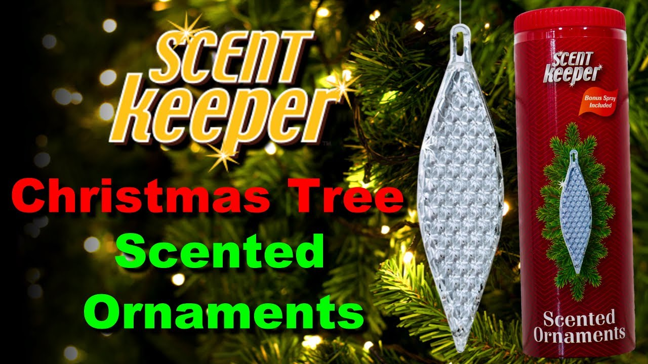 Scent Keeper Christmas Ornaments   Real Christmas Tree Scent
