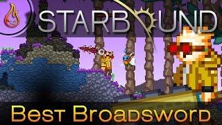 The best Broadsword in Starbound