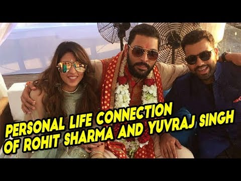 Personal Life Connection Of Rohit Sharma And Yuvraj Singh