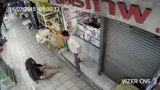 Thai Commercial 34 - Homeless Blind Truth / Vizer cctv