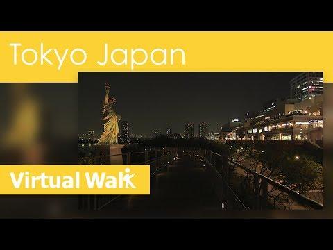 Virtual Walk In Tokyo At Night, Japan Walk In The World Of Blade Runner