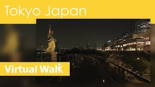 Virtual Walk In Tokyo At Night, Japan Walk In The World Of Blade Runner