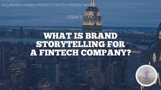What is Brand Storytelling for a Fintech Company?