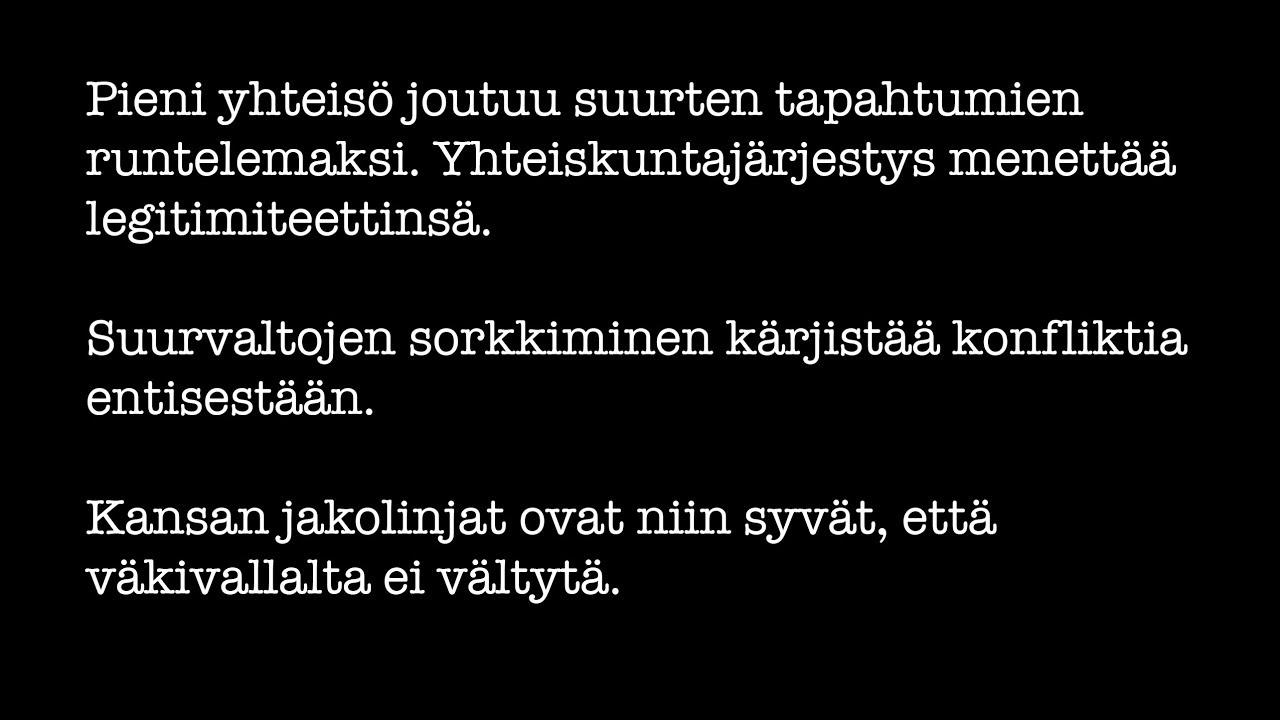 Joensuun kaupunginteatteri  Täällä pohjantähden alla - YouTube e0294a874b