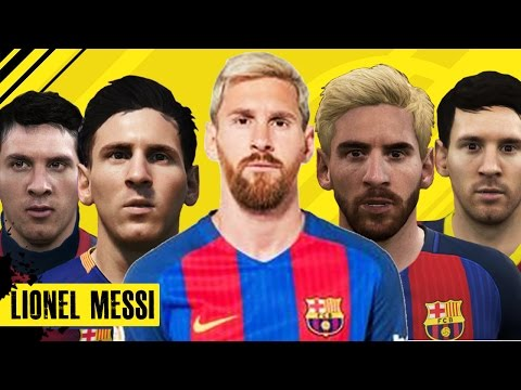 Lionel Messi From FIFA 06 to 17