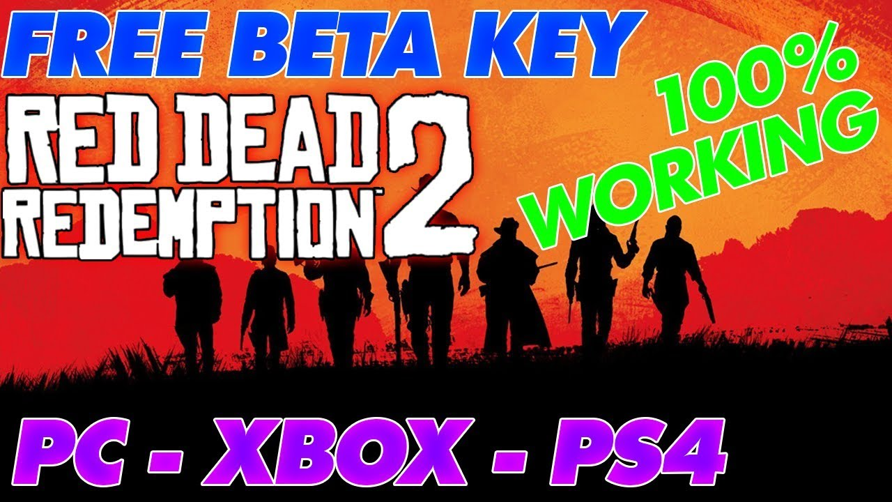 How to get a Red Dead Redemption 2 Beta Key for FREE! 🤑[PC ...