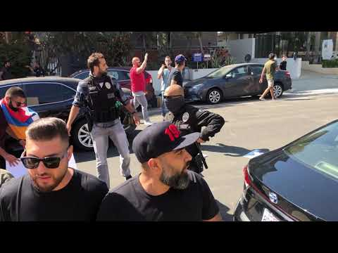 Armenians in Los Angeles protest against azerbaijani aggression