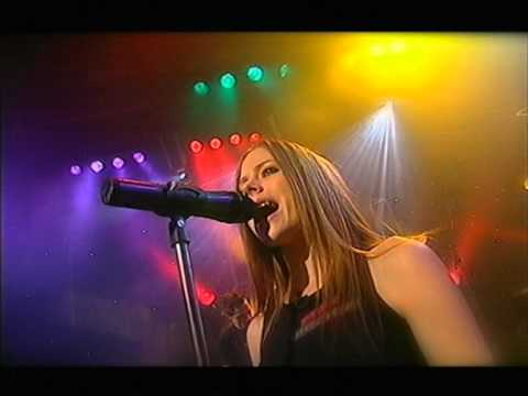 Avril Lavigne - I'm With You - Live @ Rove [03.06.2003]