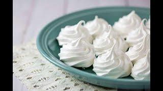 БЕЗЕ (МЕРЕНГИ)! Рецепт домашнего безе. Безе в духовке. Пироженое безе.