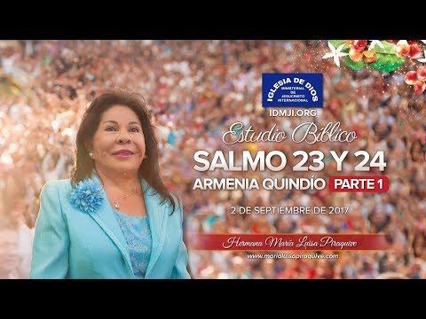 460 - Estudio bíblico  - Armenia,  Colombia- Parte 1 - Hna. María Luisa Piraquive