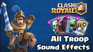 clash royale all troop card sound effects