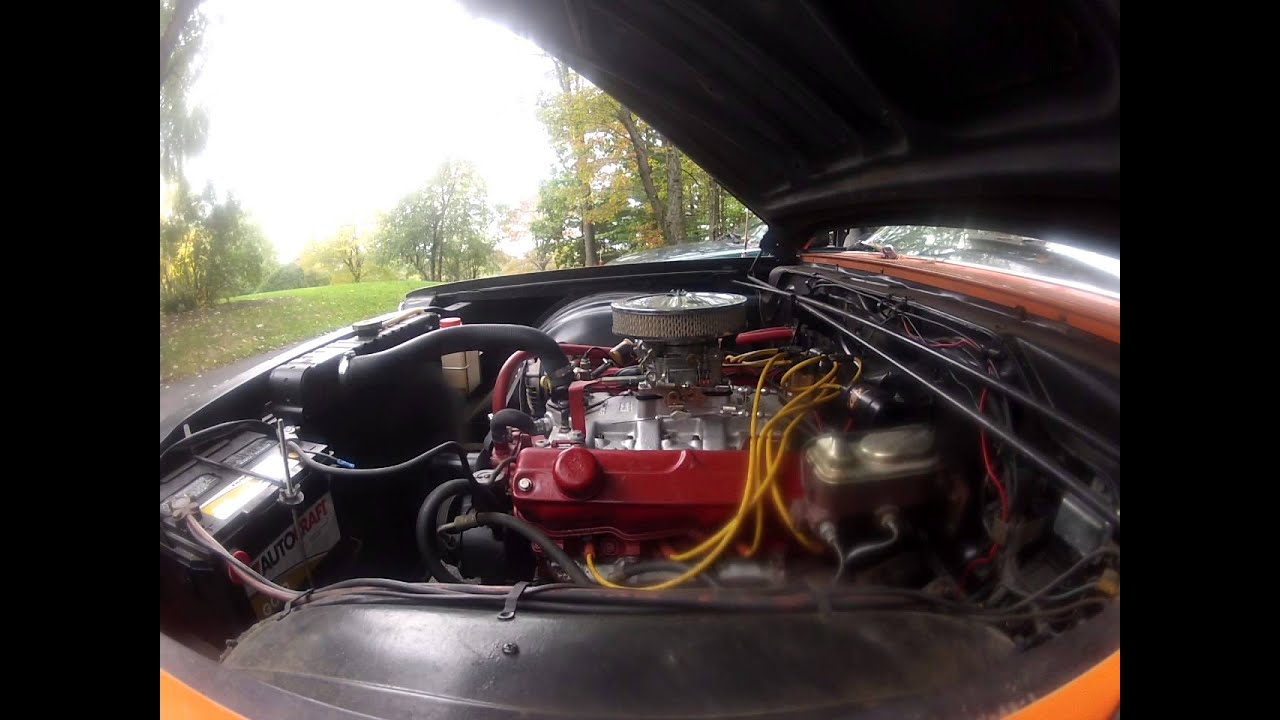 1966 Plymouth Fury Poly 318 - YouTube