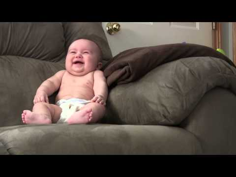 Baby Laughing Hysterically!