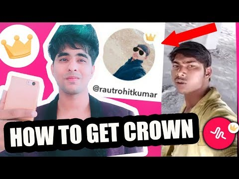 HOW TO GET CROWN ON MUSICAL.LY IN HINDI   ROHIT KUMAR GUTKA BHAI MUSICAL.LY   FAMOUS GUTKA BHAI