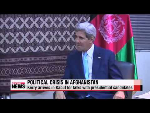 Kerry arrives in Kabul to resolve election crisis