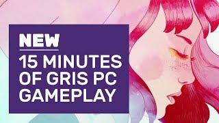 15 Minutes Of Gris PC Gameplay   Meet 2018's Prettiest Platformer