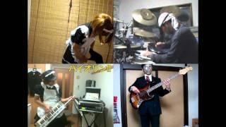 [HD]Soredemo Machi wa Mawatteiru ED [Maids Sanjou!] Band cover