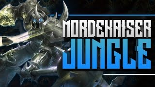 mordekaiser jungle ce champion dechire patch 6 12