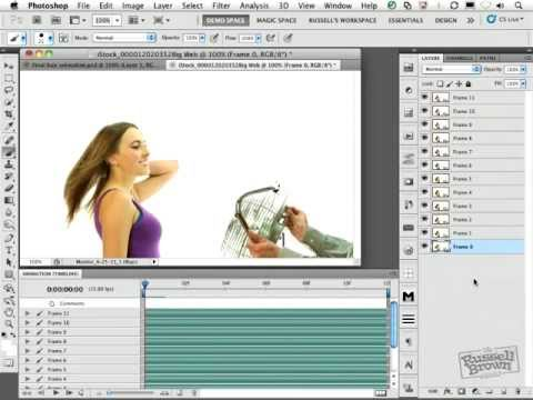 how to make video in photoshop