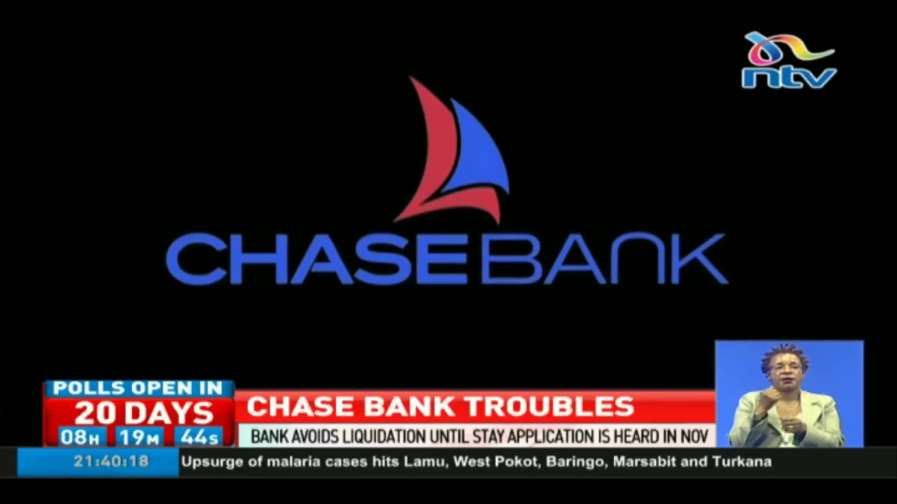 Chase Bank Avoids Liquidation Until Stay Application Is Heard In November