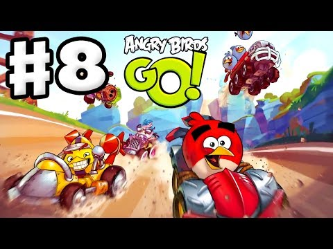 Angry Birds Go! Gameplay Walkthrough Part 8 - Using a Telepo