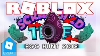 [EGG HUNT 2019 ENDED] HOW TO GET THE MISSING EGG OF ARG! | Roblox Scrambled In Time