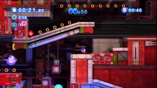 Sonic Generations - Planet Wisp Acte 1 - Défi 4 : Poursuis Blaze