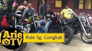 Arie Ride TV :: BBQ Sungai Congkak Bobber Motorcycle