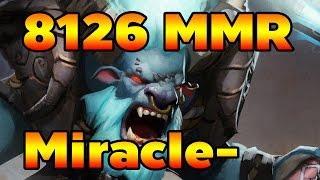 Miracle- Spirit Breaker Bashlord 8126 MMR Dota 2 ( Full Gameplay )