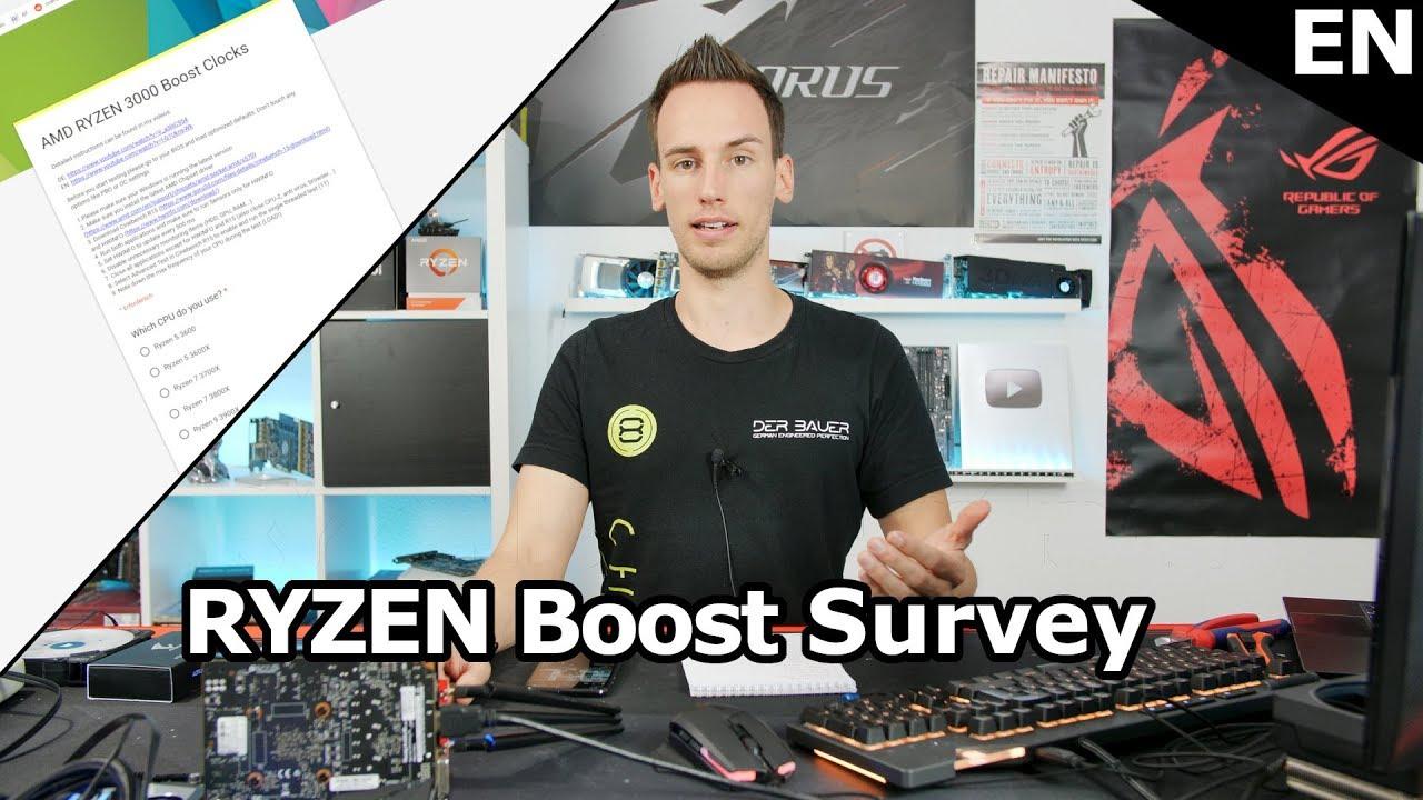 I need YOUR Help! RYZEN 3000 Boost Analysis