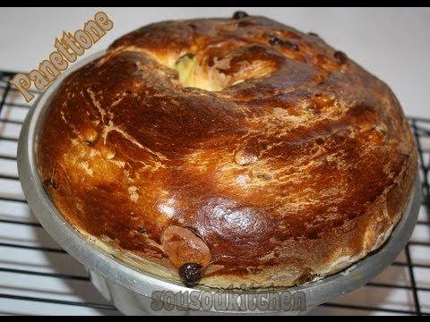 panettone-bread-recipe/-pain-brioché-italien-panettone