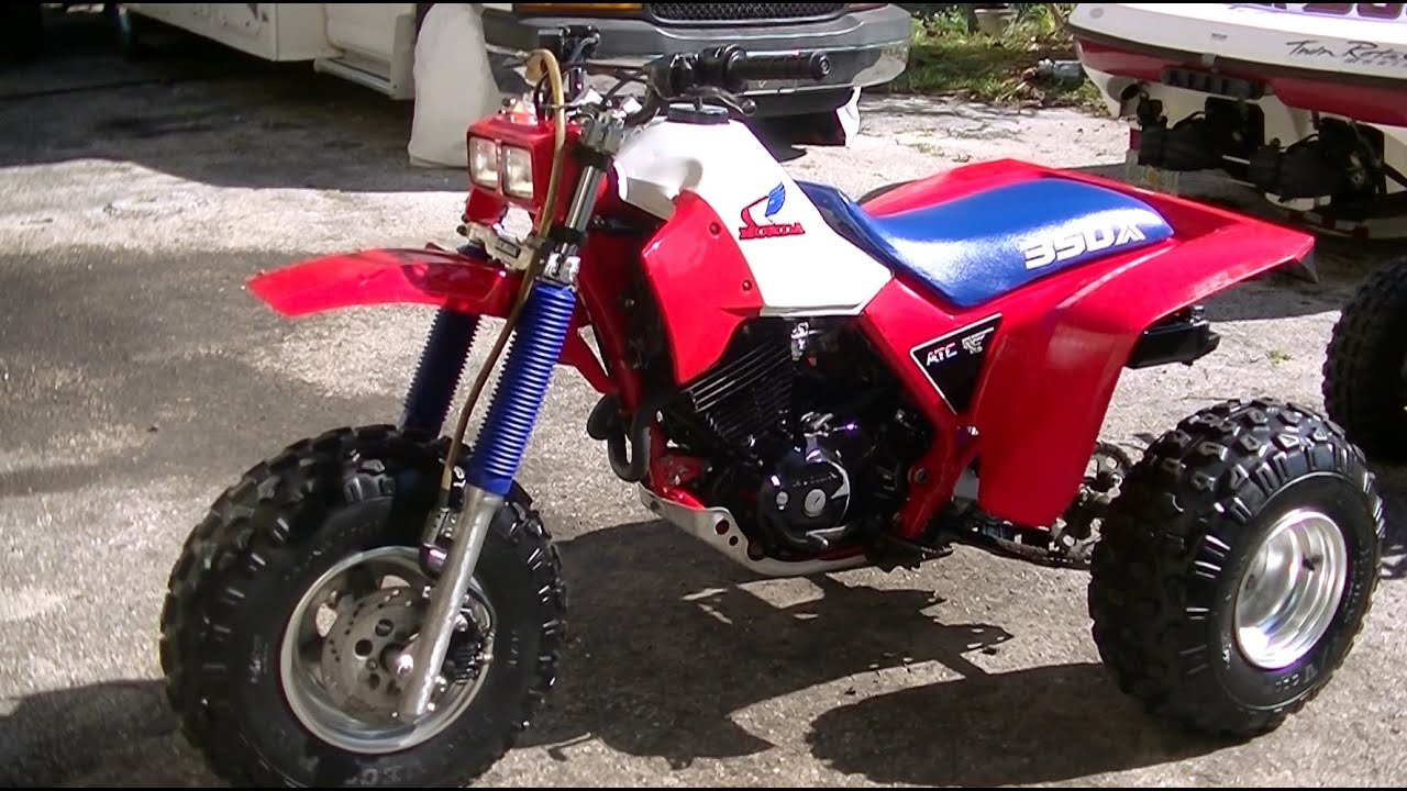 1985 honda 350x atc overview ebay 3 15 youtube. Black Bedroom Furniture Sets. Home Design Ideas