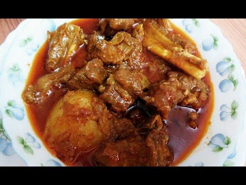 How to Prepare Authentic Bengali Mutton Curry Recipe | Kosha Khashir Mangsho
