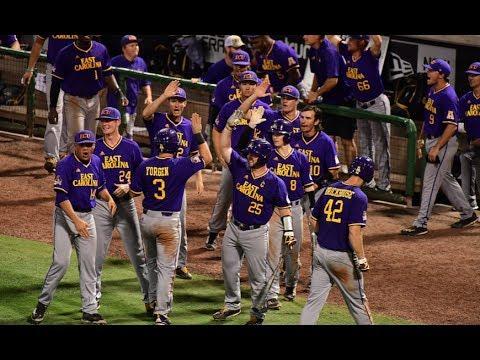 2017 American Baseball Championship Day 1 - ECU Postgame Interviews