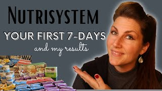 Nutrisystem Week 1 | How to do it RIGHT & My RESULTS