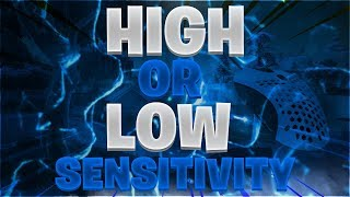 High or Low sensitivity in Fortnite? | Aim, Building & Editing (PC, Xbox & PS4)