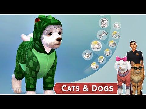 Az Állati Meló 🐕  - Karakterkészítés, beköltözés! - 1. rész (Cats and Dogs)