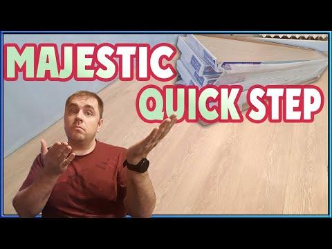 Обзор ламината Quick step Majestic (Широкий ламинат,  укладка ламината и мой отзыв)